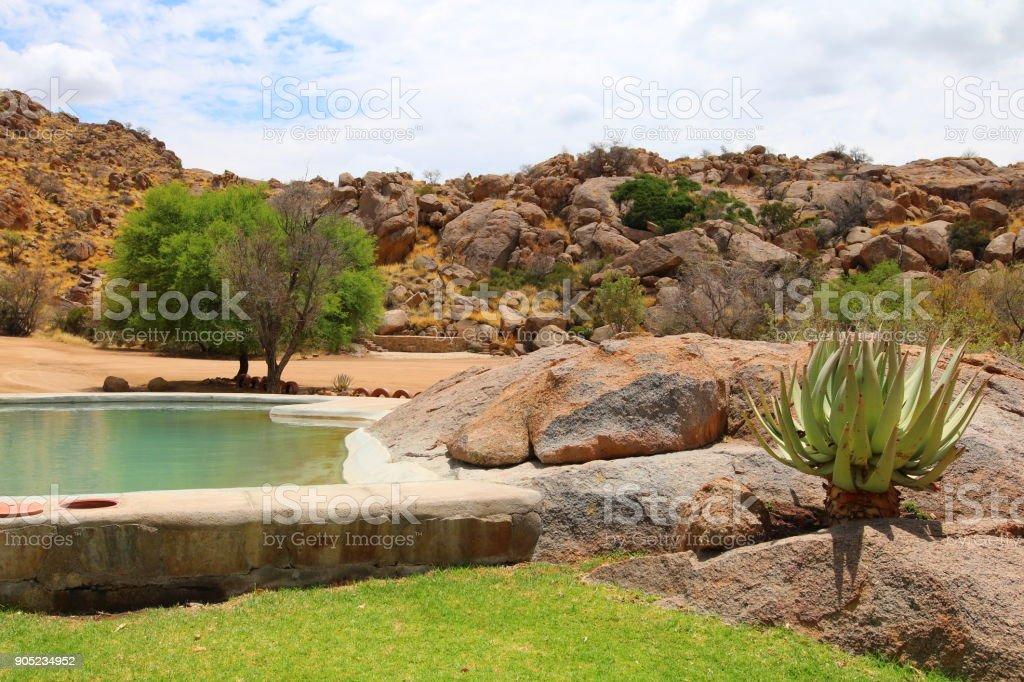 Namibgrens stock photo