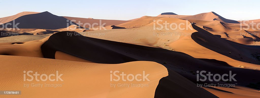 Namibian Desert royalty-free stock photo