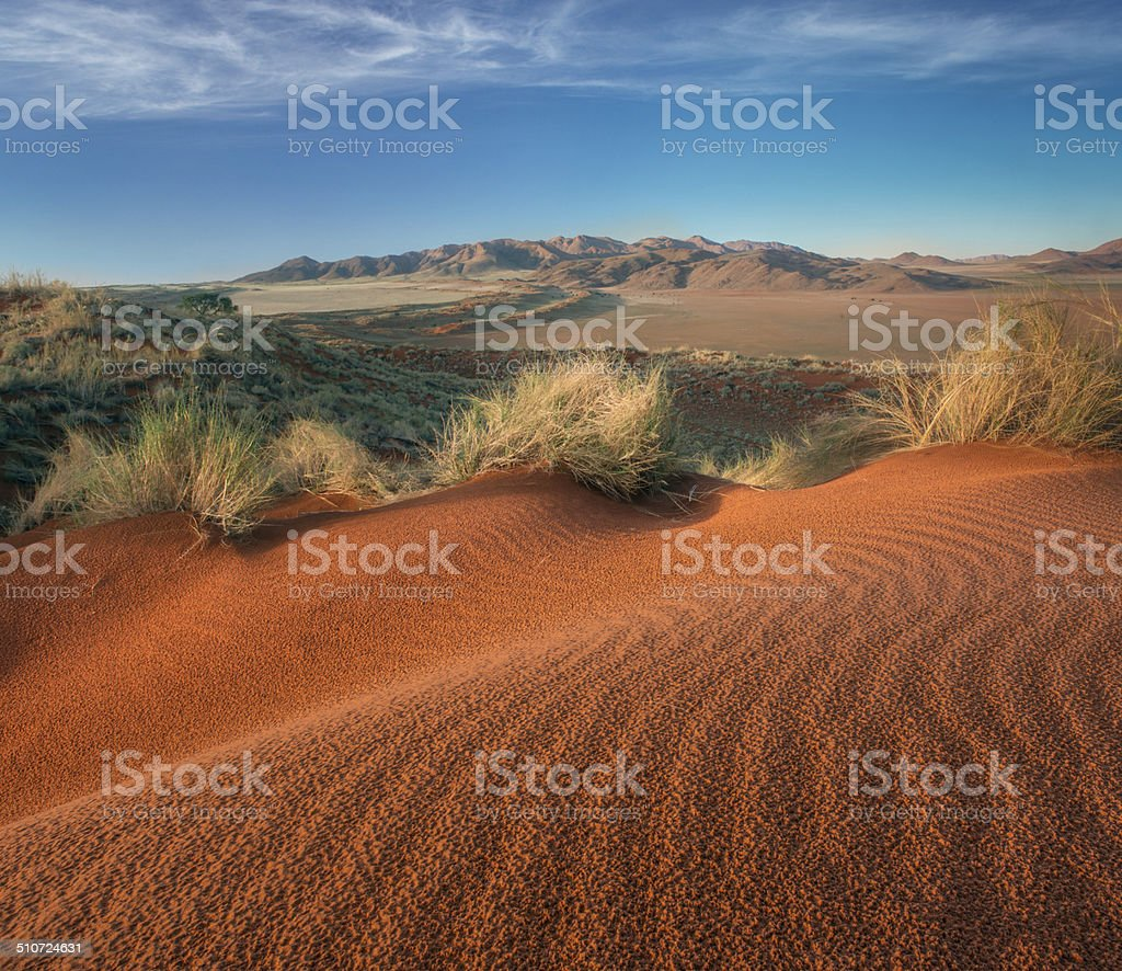 Namibian Desert stock photo
