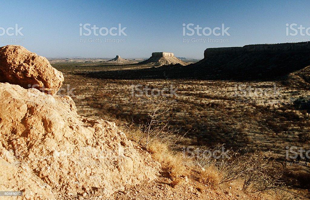 ナミビアの風景 ロイヤリティフリーストックフォト