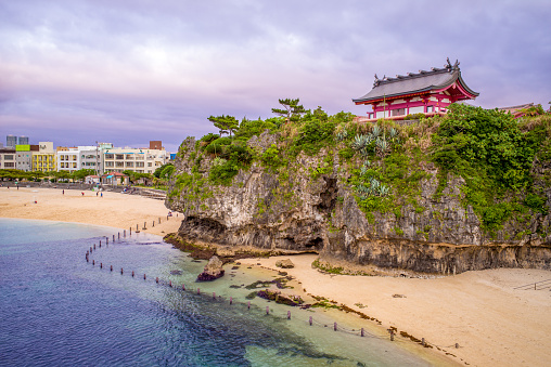 Naminoue Shrine In Okinawa Stock Photo - Download Image Now