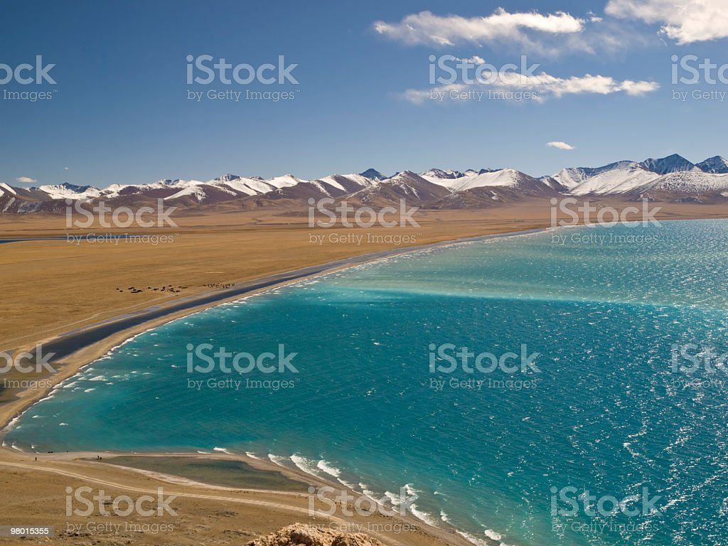Namtso in Tibet royalty-free stock photo