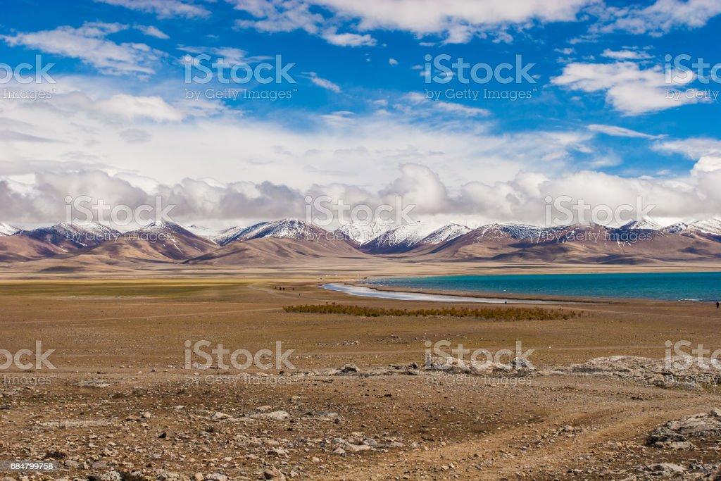 Namtso lake,china stock photo