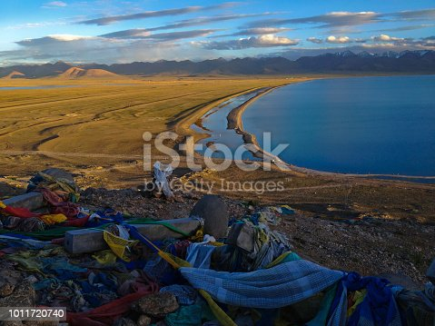 Namtso or Lake Nam (Heavenly Lake) is a mountain lake on border between Damxung and Baingoin County in Tibet Autonomous Region of China. It is one of  world highest salt lake and Tibetan largest.