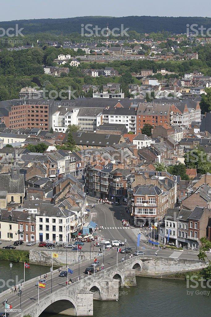 Namur in Belgien Lizenzfreies stock-foto