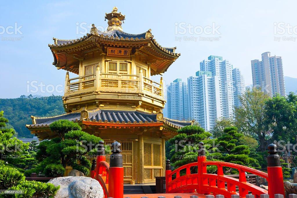 Nan Lian Garden Hong Kong stock photo