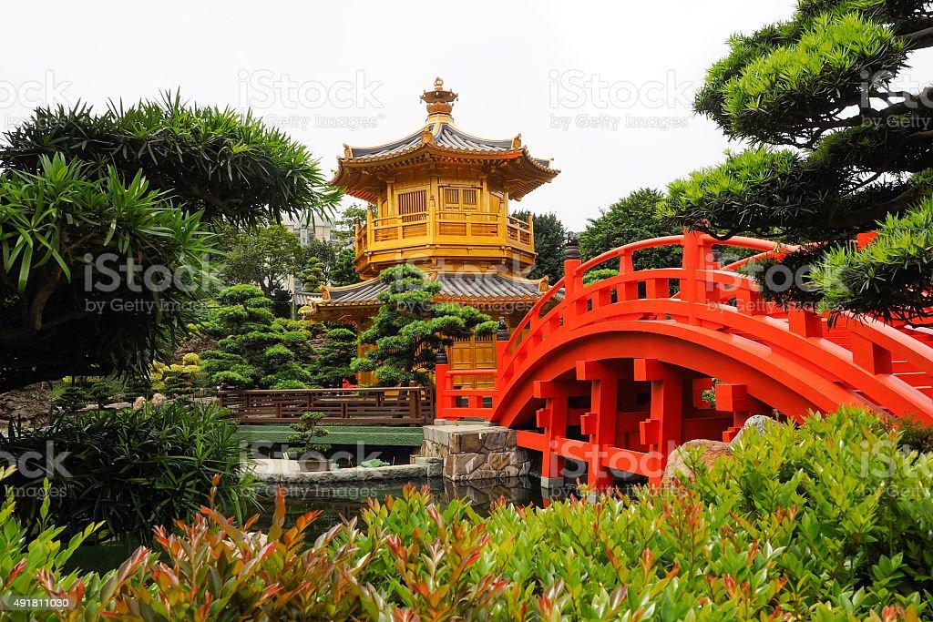 Nan Lian Garden park. stock photo