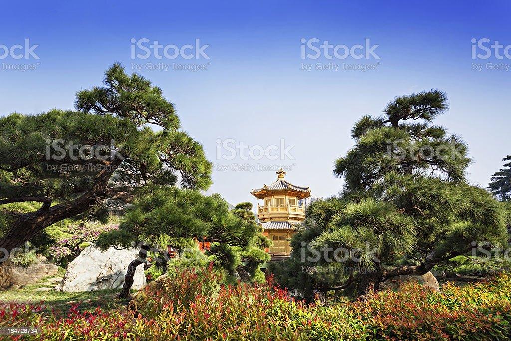 Nan Lian Garden stock photo
