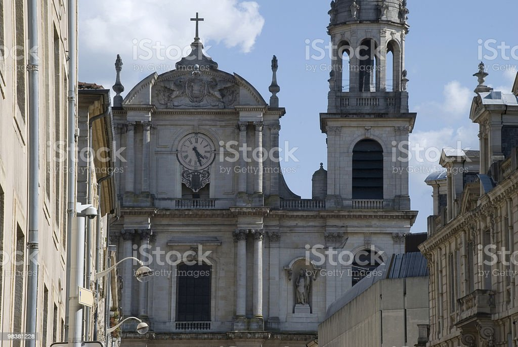 Nancy cathedral royalty-free stock photo