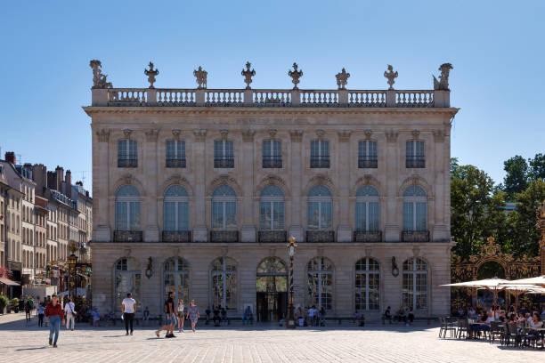 Nancy Museum of Fine Arts stock photo