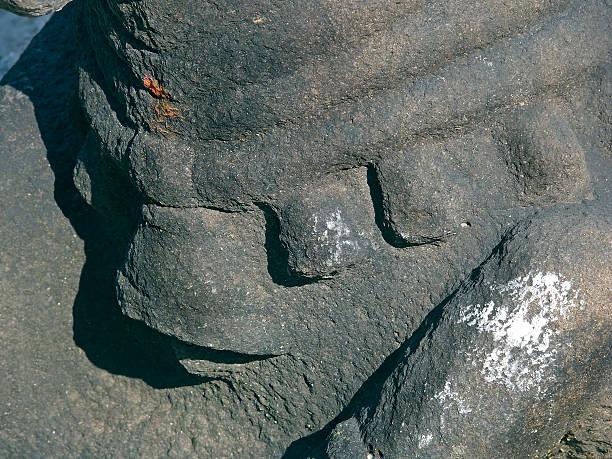 Statue des Nandi bull) (Vahana von shiva, der von Gott shiva-Tempel – Foto