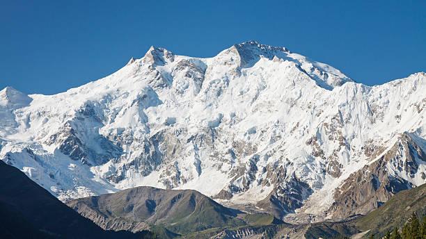 Nanga Parbat, Himalaya, Pakistan stock photo
