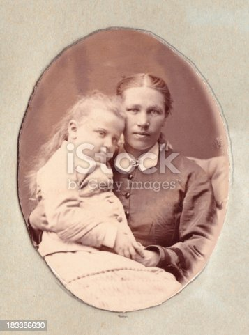 478384809 istock photo Nanny (or mother) with child 183386630