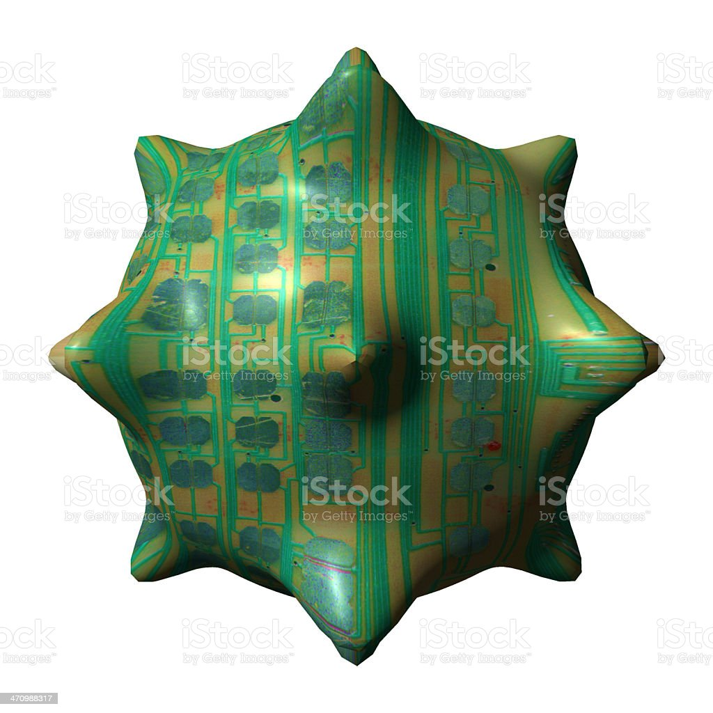 Nano Spike royalty-free stock photo