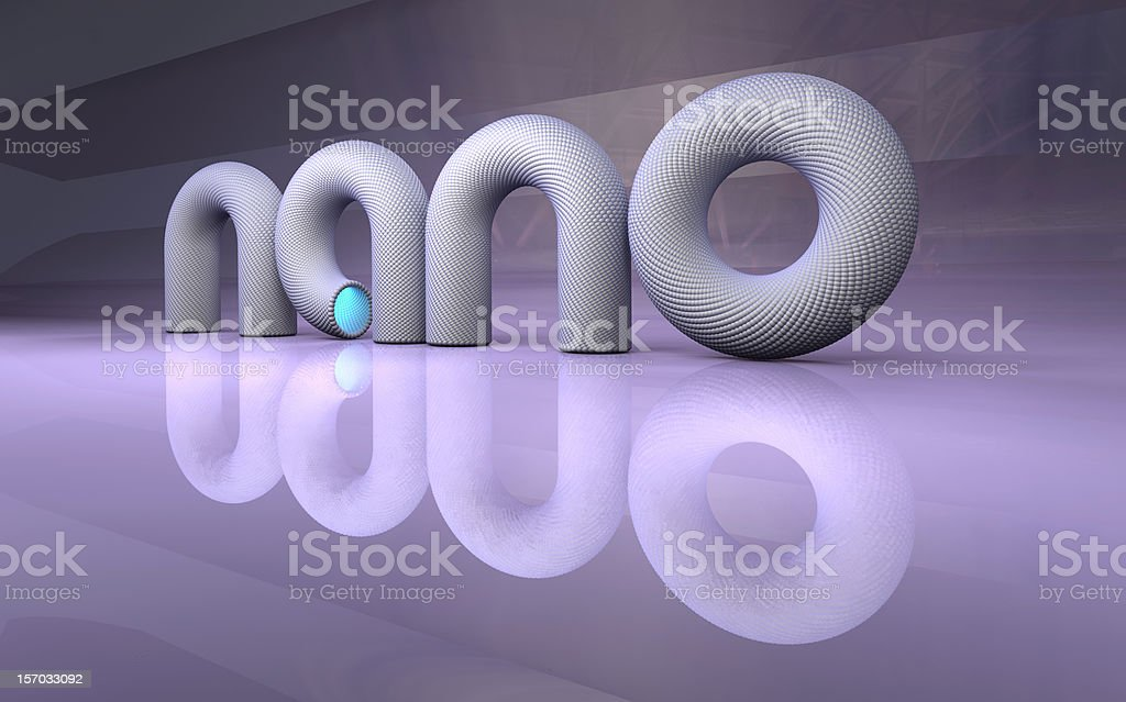 nano technology stock photo