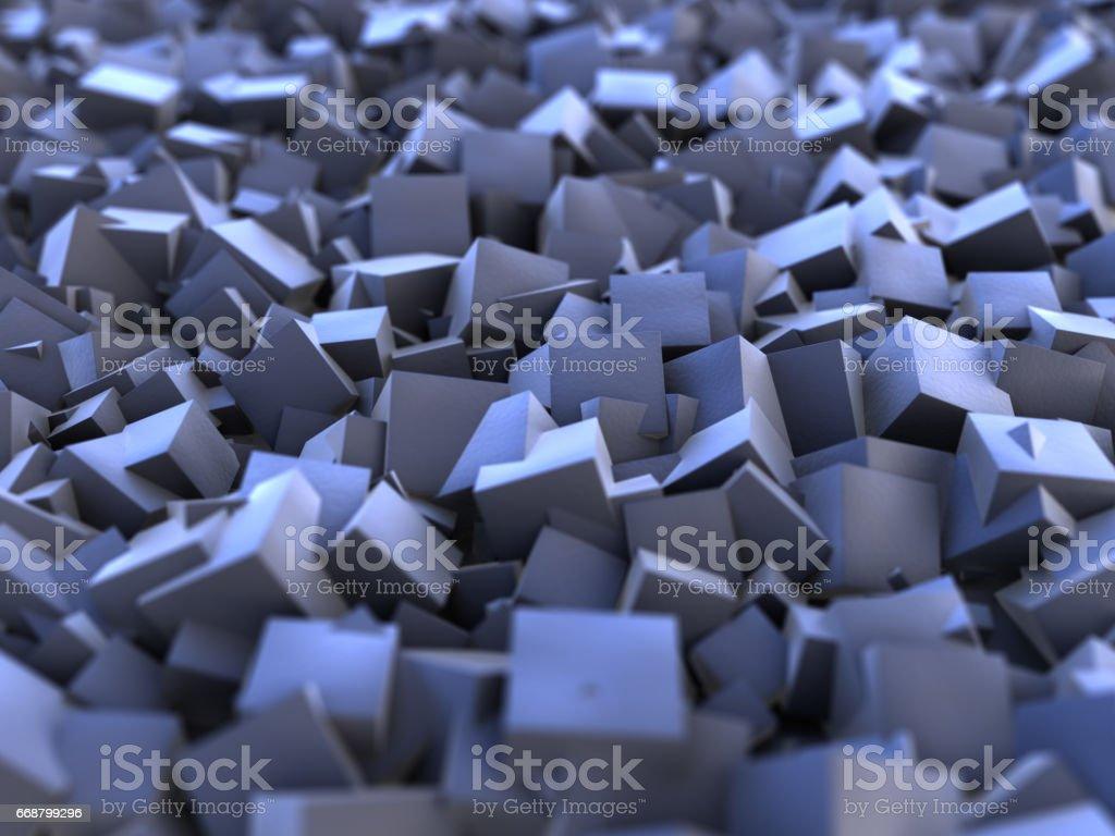 nanocubes stock photo