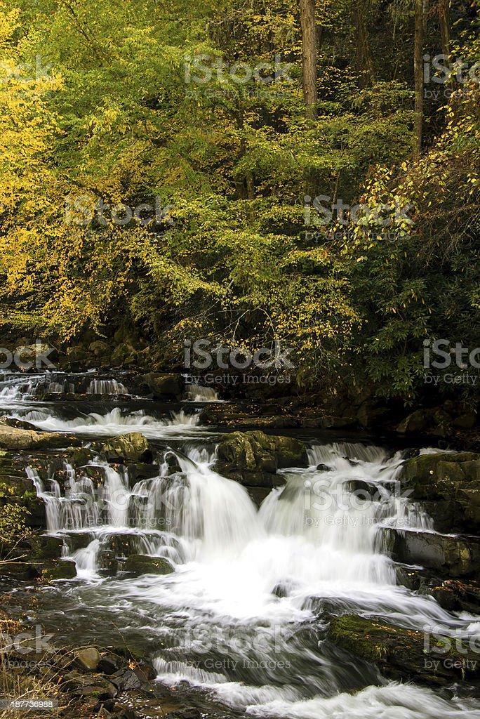 Nantahala Cascade 2 stock photo