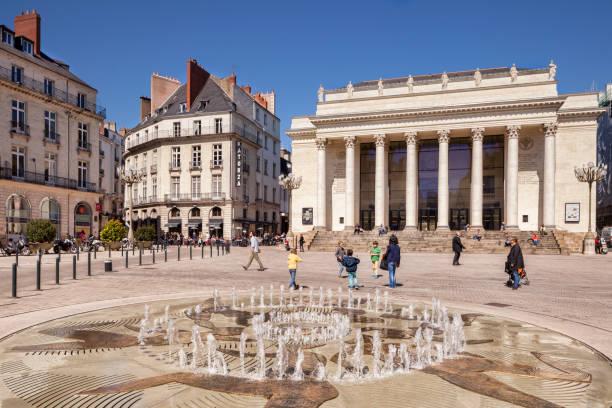 Nantes Opera House, France stock photo