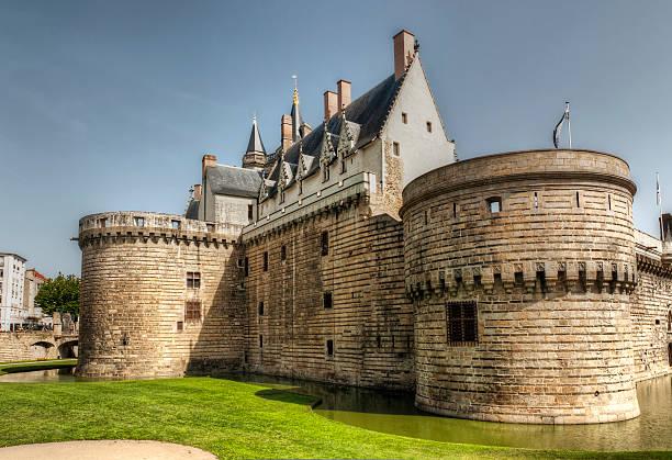 """nantes-le château de bretagne duke s"""" - nantes photos et images de collection"""
