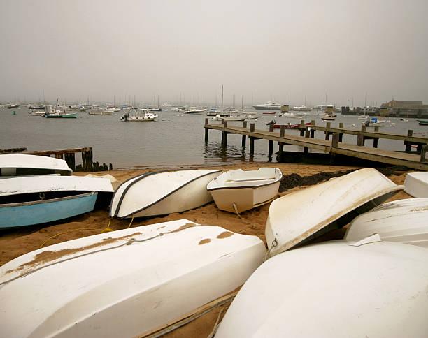Nantucket Wharf stock photo
