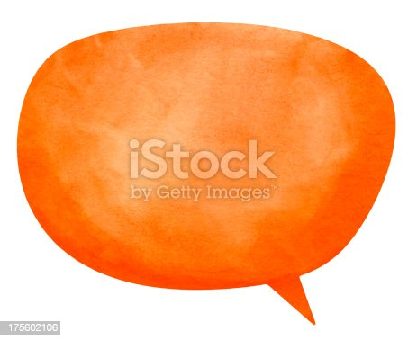 istock Nanuk Orange Speech Globe 175602106
