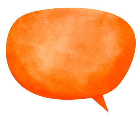 istock Nanuk Orange Speech Globe 175602106