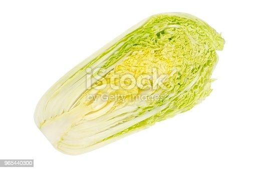 Napa Cabbage Half Chinese Cabbage Top View - Stockowe zdjęcia i więcej obrazów Austria