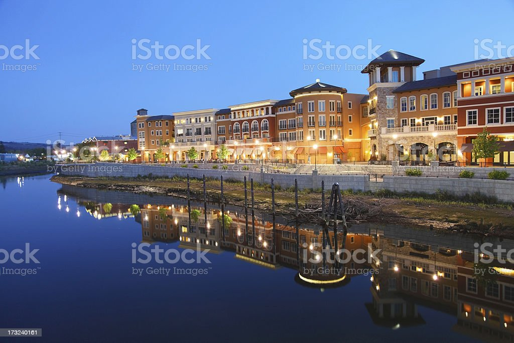 Napa California stock photo