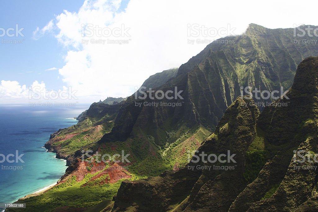 Napali Coast - Kauai, Hawaii royalty-free stock photo