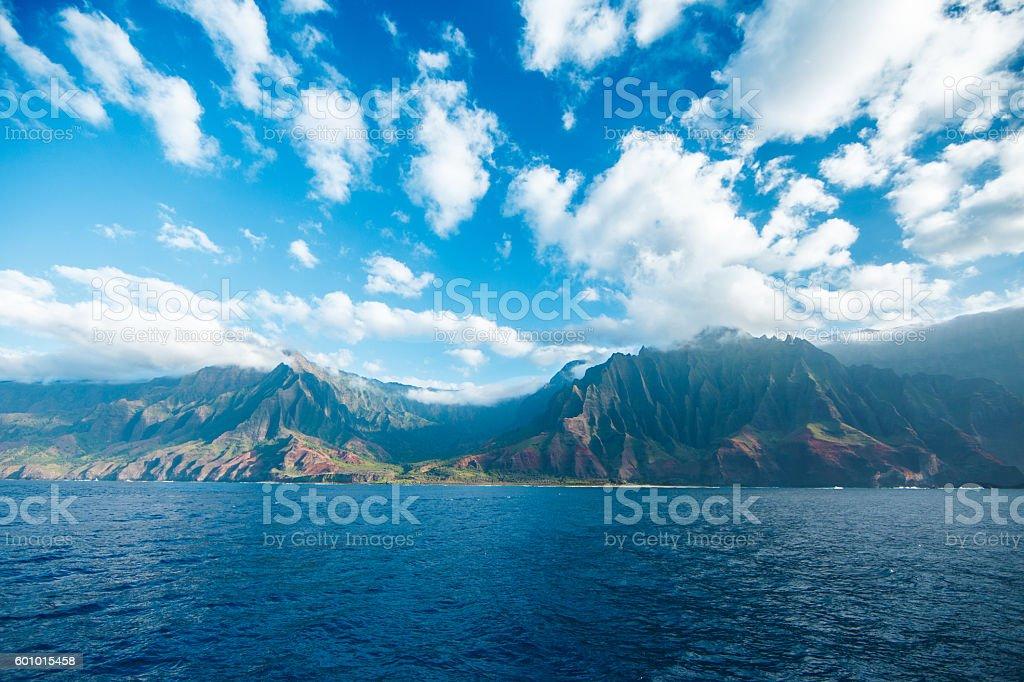 Na'Pali Coast Kaua'i stock photo