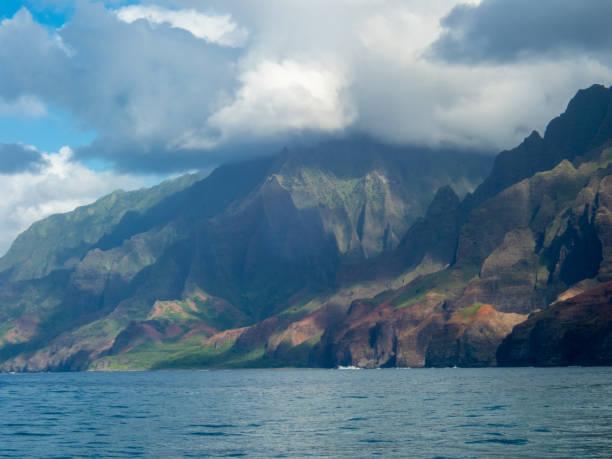 Napali Coast stock photo