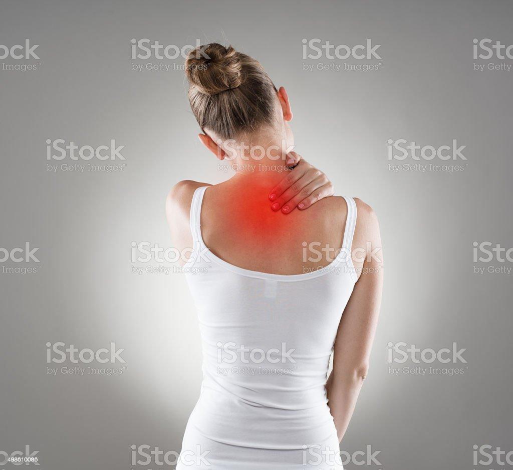 Neck and shoulder anatomy images