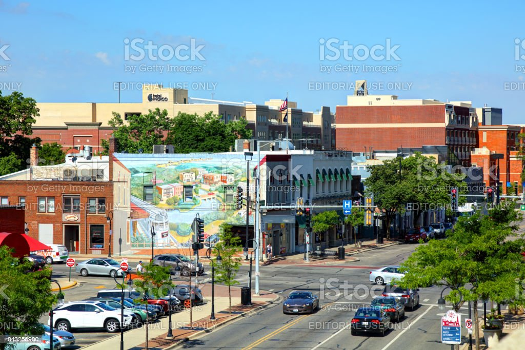 Naperville, Illinois stock photo