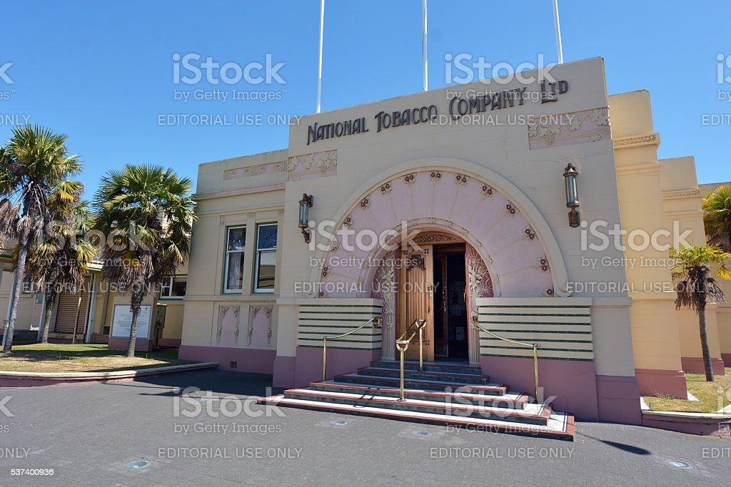 Napier - National Tobacco Company Building stock photo