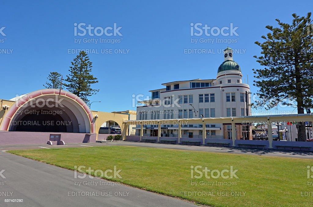 Napier - New Zealand stock photo
