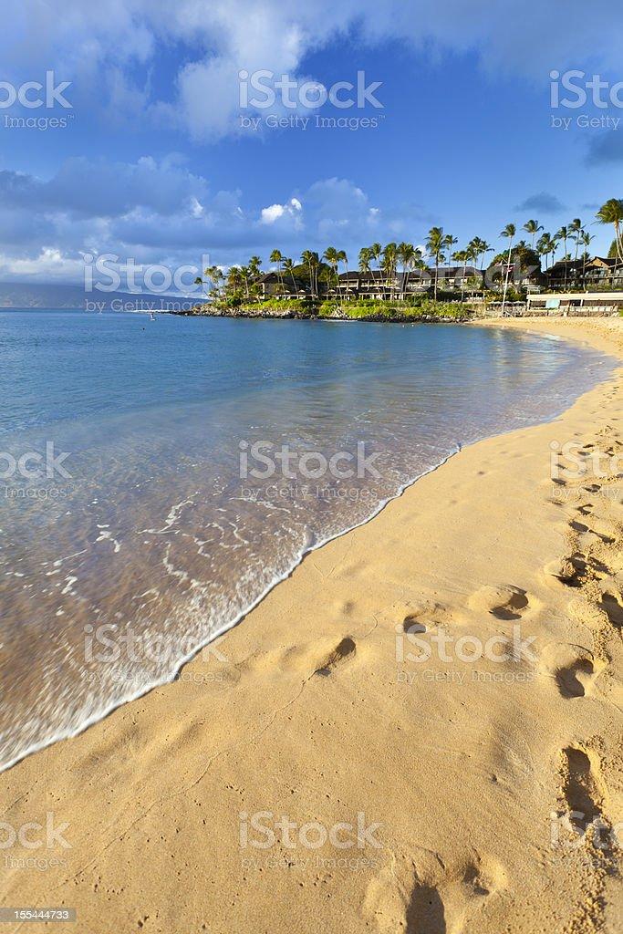 Napili Bay, Maui stock photo