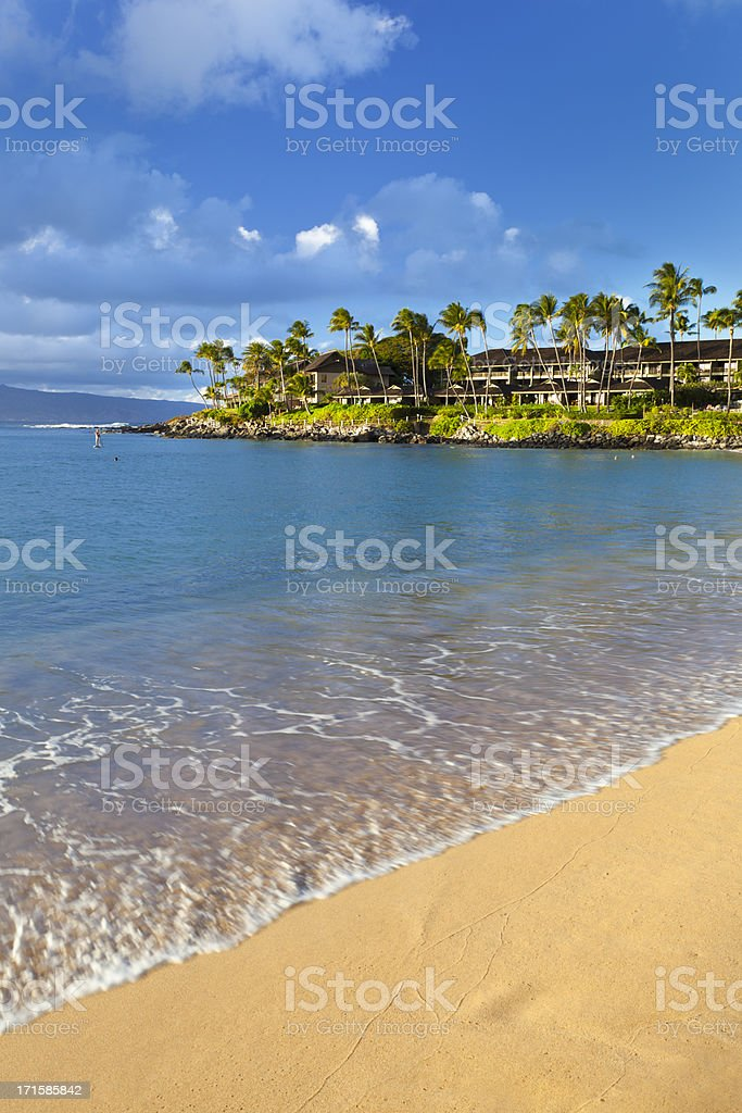 Napili Bay, Maui stock photo