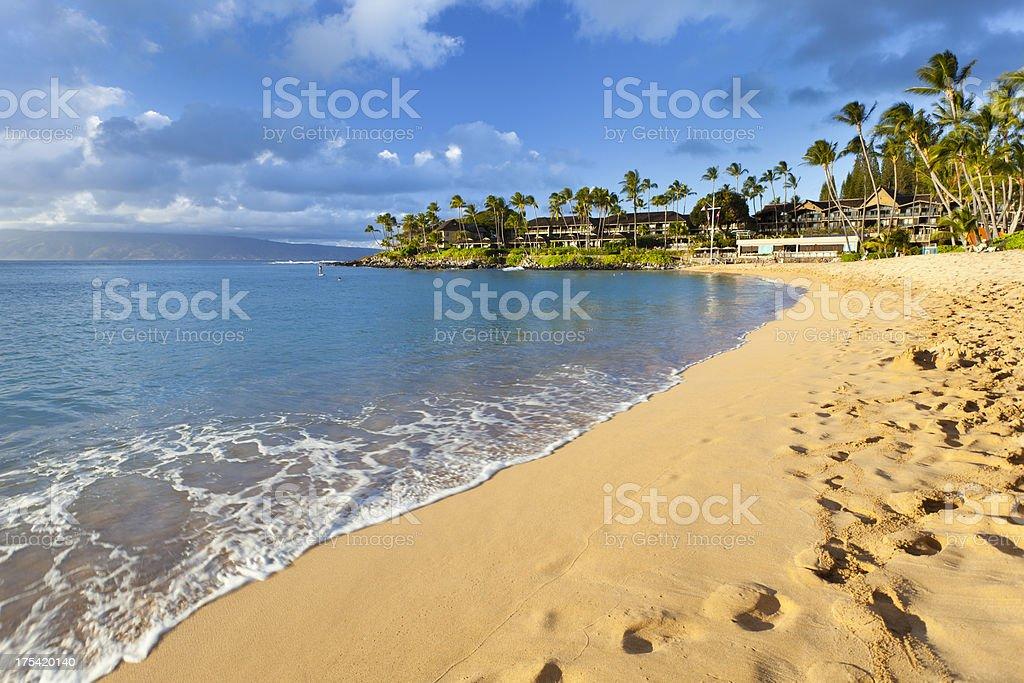 Napili Bay, Maui royalty-free stock photo