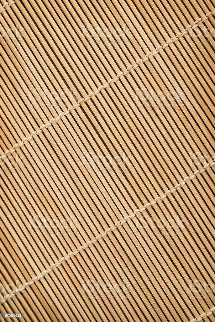 Napkin from a bamboo royalty-free stock photo
