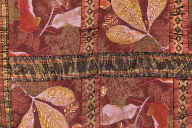 serviette handgemachte patchwork. - hausgemachte teppichreiniger stock-fotos und bilder