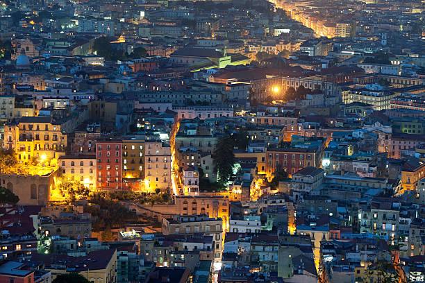 Naples bei Nacht – Foto