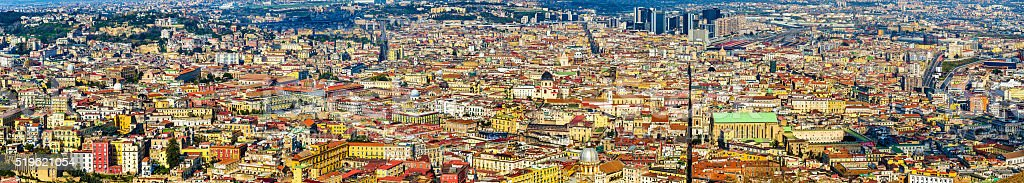 Naples historic centre stock photo