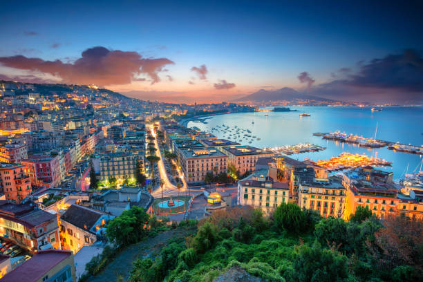 Naples, Italy. stock photo