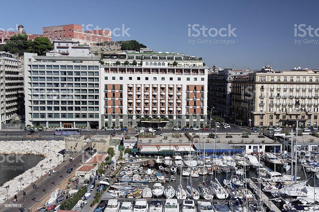 Naples marina royalty-free stock photo