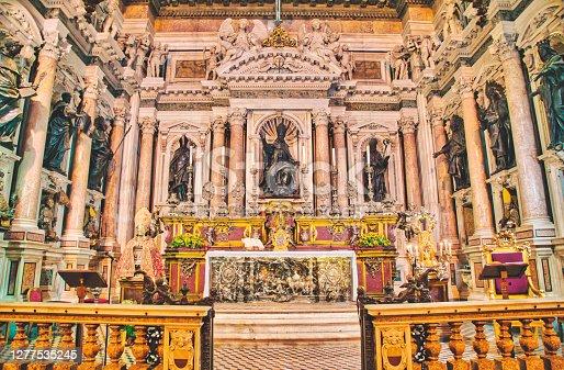 istock Naples - Unesco world heritage site - Naples Cathedral - Italy 1277535245