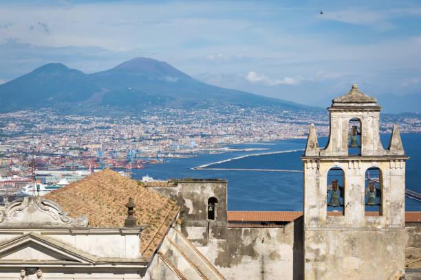 Naples, View from Certosa di San Martino stock photo