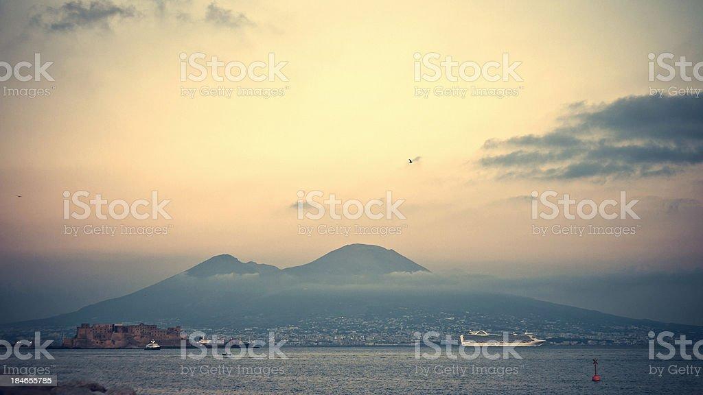 Aussicht auf Neapel. – Foto