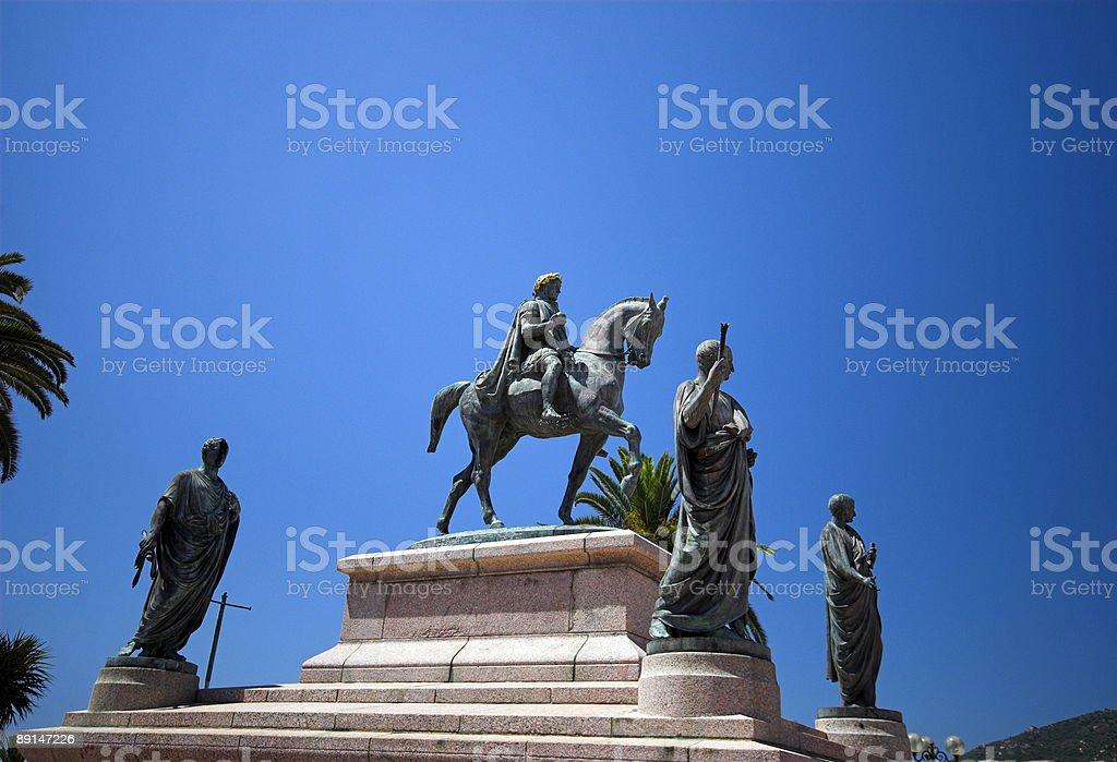 Napoleon Bonaparte royalty-free stock photo