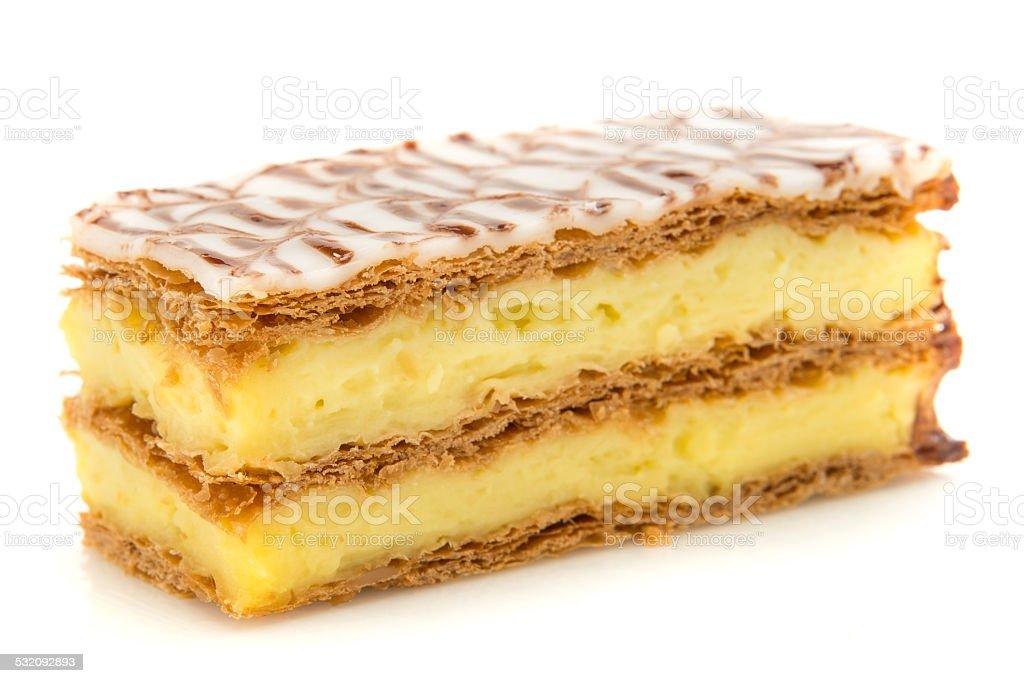 Napoleon Cake Stock Photo - Download Image Now - iStock