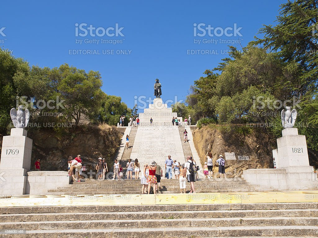 Napoleon in Ajaccio royalty-free stock photo